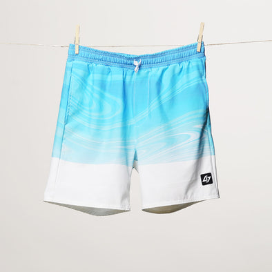 CLG x Jisu: 'Neo Wave' Board Shorts