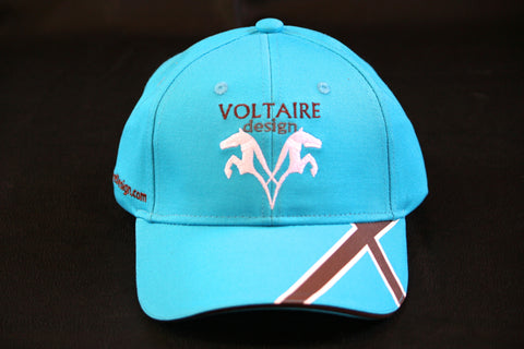 NEW Voltaire Design Baseball Cap in Blue