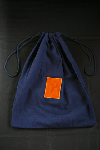 Antares Drawstring Helmet Bag/Tote in Navy