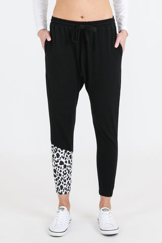 Sporty Leopard Jogger