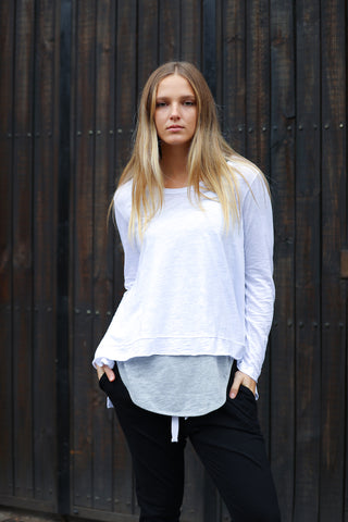 Willow Tee White