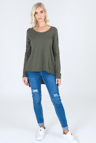 Willow Tee Khaki