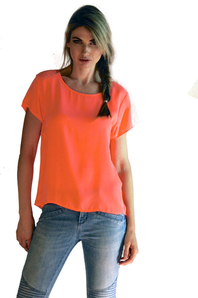 Neon Watermelon Light Tee