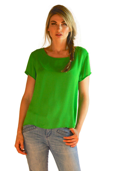 Light Tee Apple Green