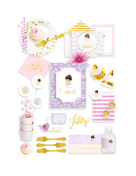 Ballerina Party Birthday Box - THE FANCY