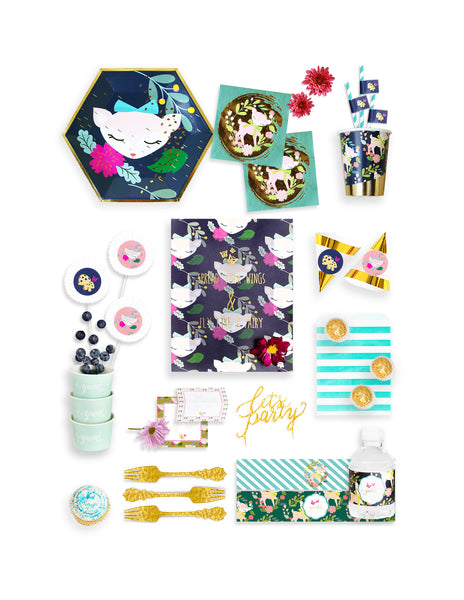 Woodland Animals Birthday Box - THE FANCY