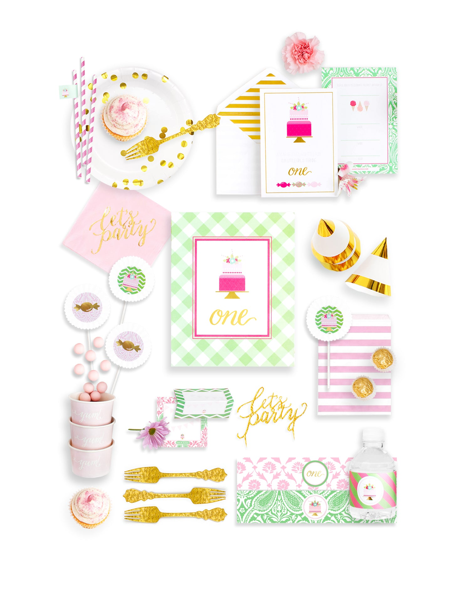 First Birthday Party In A Box - THE FANCY
