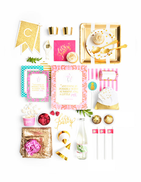 Baby Shower Party In A Box - THE LUXE