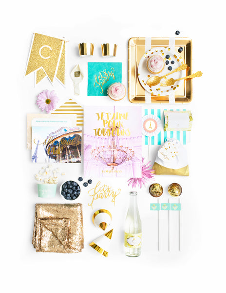 Paris Bridal Shower In A Box - THE LUXE