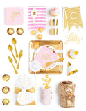 Pink Gold Party In A Box