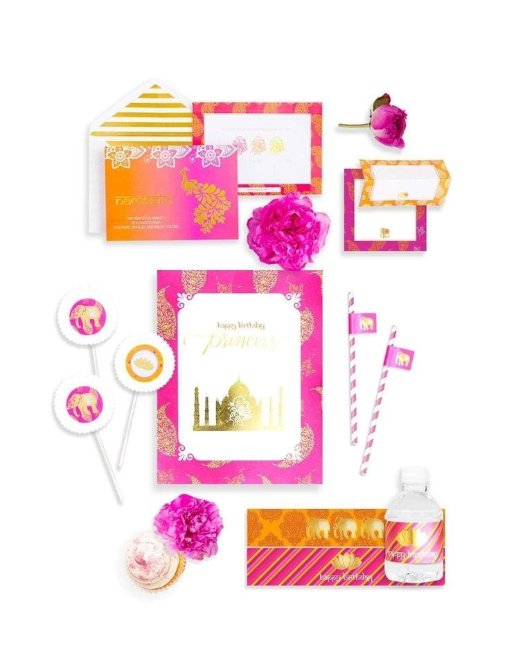 Bollywood Party In A Box- THE MINI, The Colors Of Bollywood Party Collection, modern party supplies online