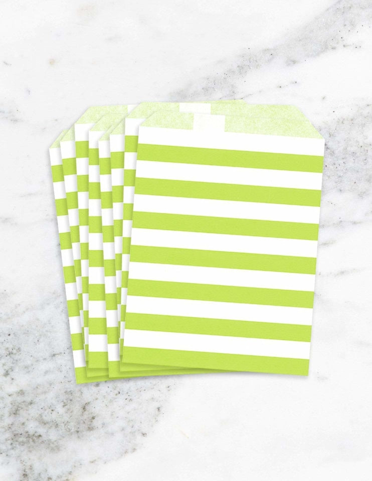 Candy Bags / Treat Bags (Green)