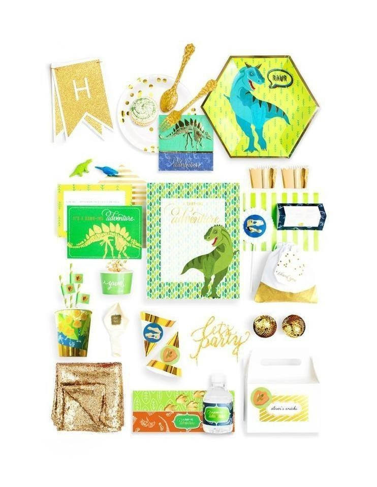Dinosaur Party In A Box - THE LUXE