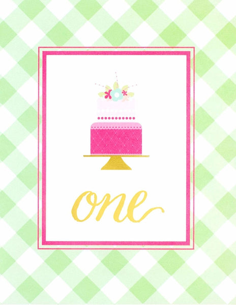 First Birthday Party Sign, As Sweet As Her Party Collection, modern party supplies online