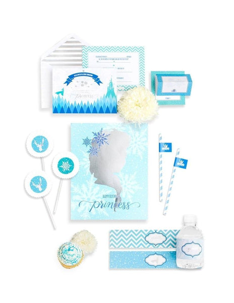 Frozen Party In A Box - THE MINI, The Snow Queen Party Collection, modern party supplies online