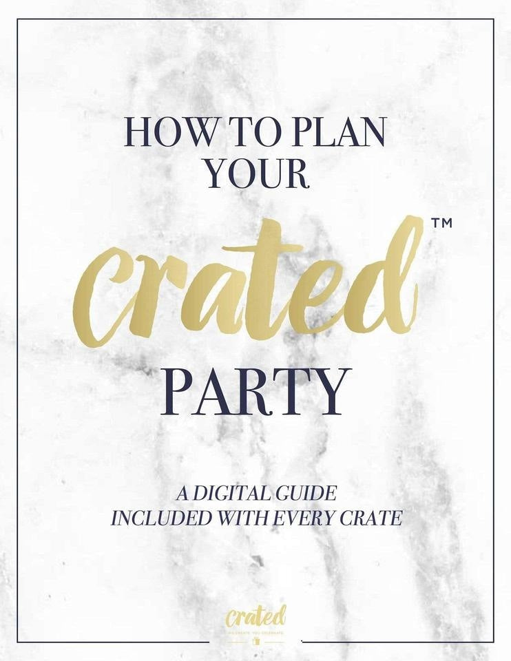 Gold Party In A Box - FOR ADULTS, Metallics Party Collection, modern party supplies online