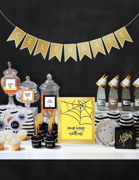 Halloween Party In A Box, Halloween Party Collection, modern party supplies online