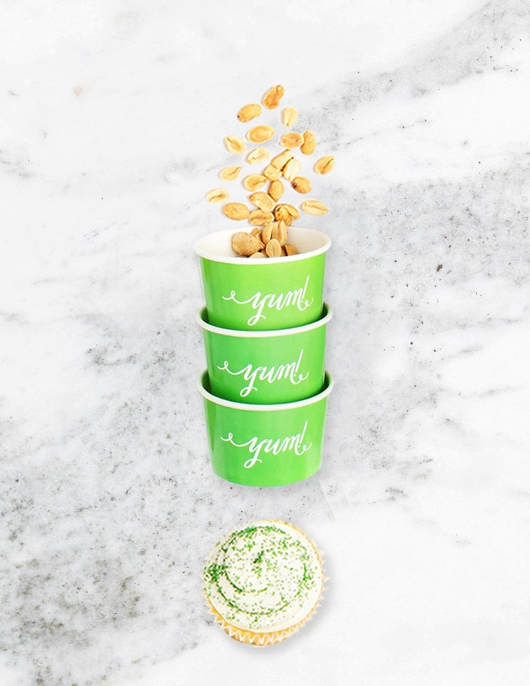 Ice Cream Cups / Candy Cups (Green)