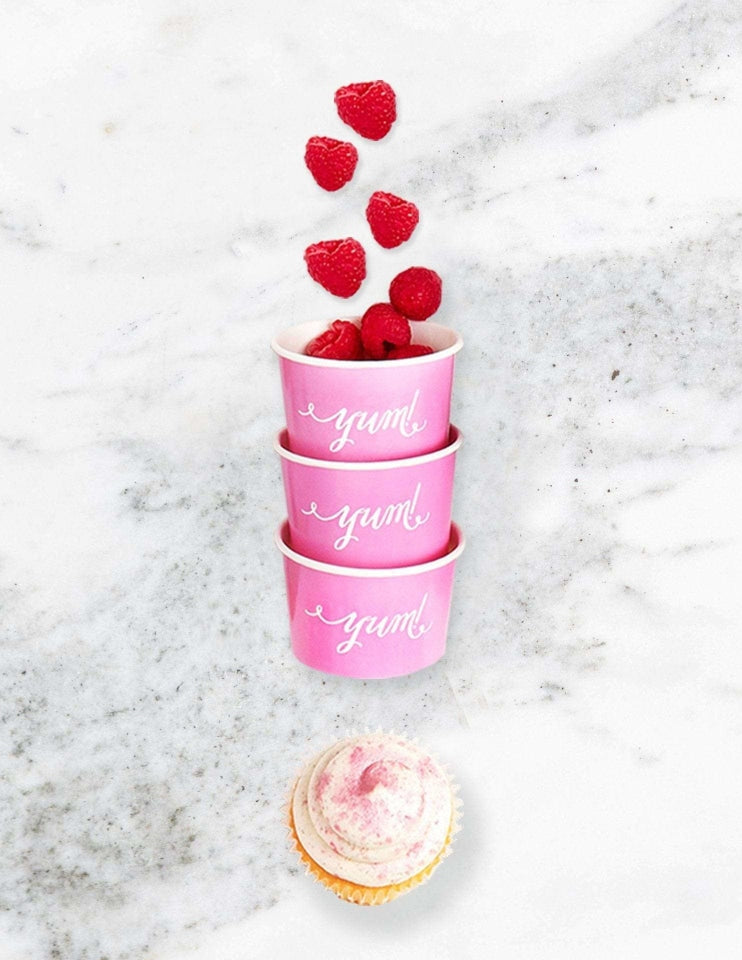 Ice Cream Cups / Candy Cups (Pink)
