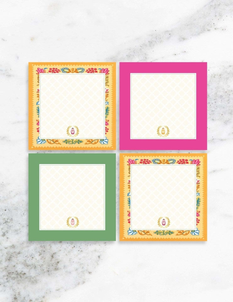 Nesting Doll Party Place Cards, Merry Matryoshka Party Collection, modern party supplies online