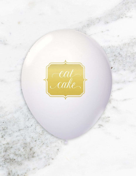Party Balloons (Gold)