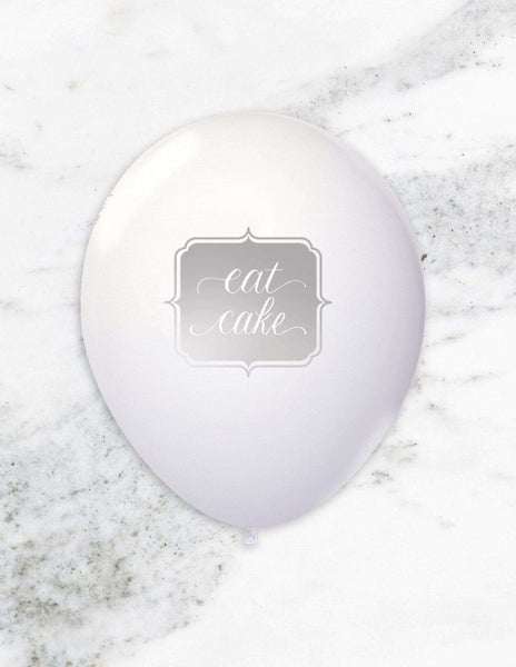 Party Balloons (Silver), Metallics Party Collection, modern party supplies online