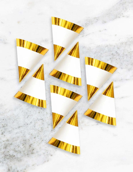 Party Hats (Gold)