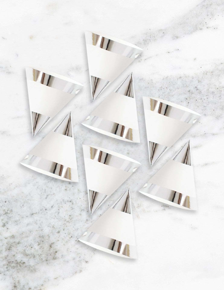 Party Hats (Silver)