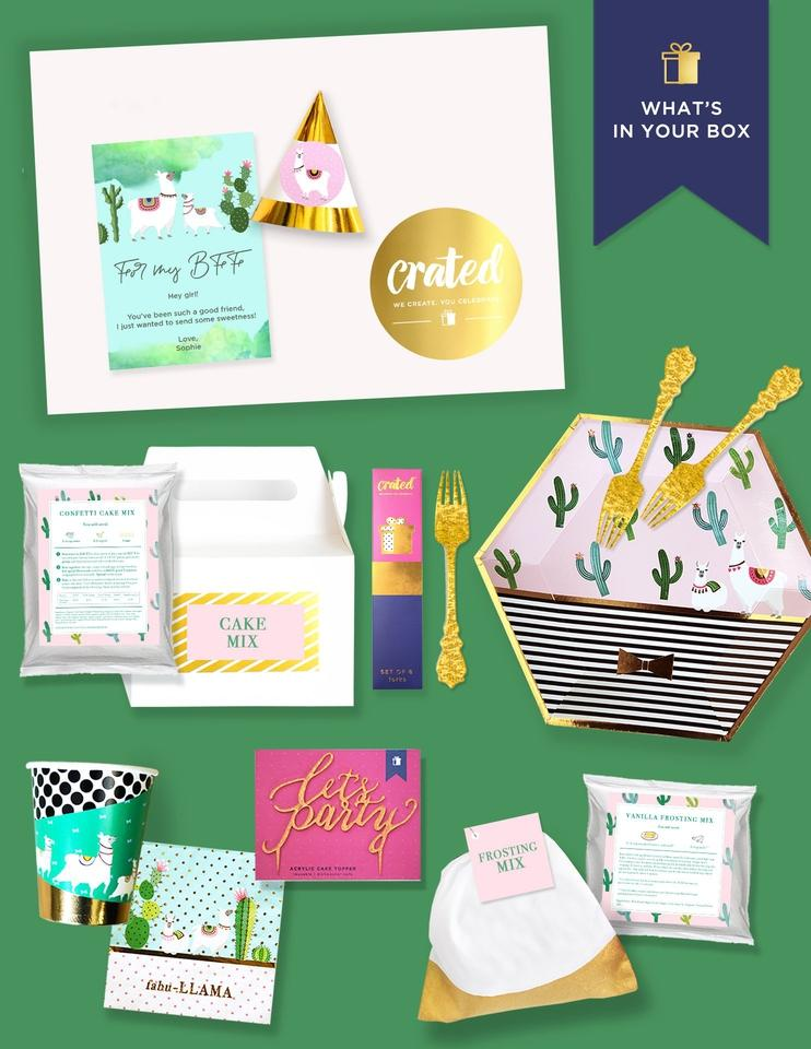 Personalized Friendship Gift Box-Unique Gift Ideas-Crated®
