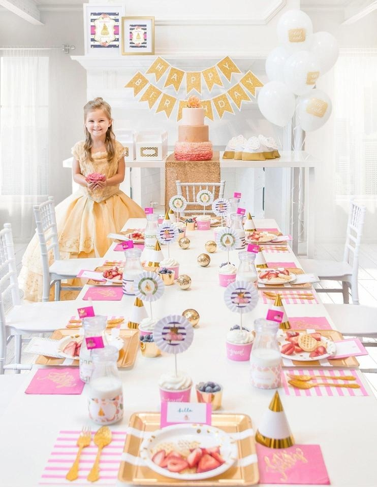 Princess Party In A Box - THE LUXE, Beauty & The Beast Collection, modern party supplies online