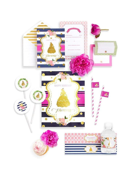 Princess Party In A Box - THE MINI, Beauty & The Beast Collection, modern party supplies online