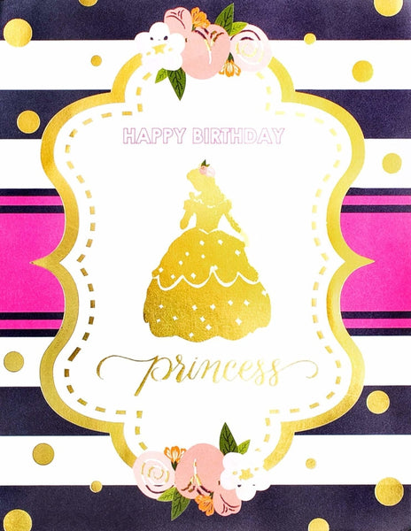 Princess Party Sign, Beauty & The Beast Collection, modern party supplies online