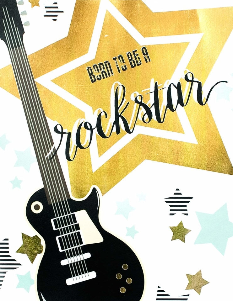 Rockstar Party Sign, Backstage Pass Party Collection, modern party supplies online