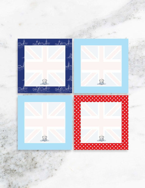 Royal Prince Party Place Cards, London Party Collection, modern party supplies online
