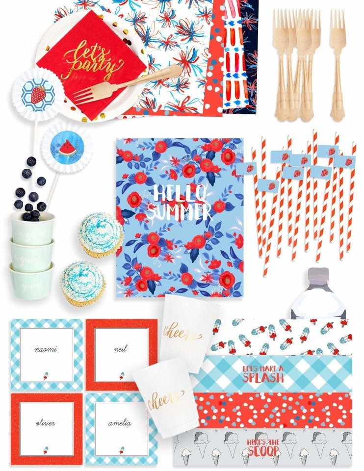 Summer Party Essentials, Holiday Party Collection, modern party supplies online