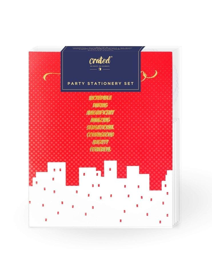 - *gold Mini All Art Print Batman Boy Birthday Invitations