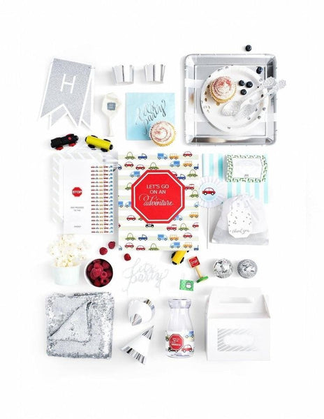 Transportation Party In A Box - THE LUXE, Born To Move Party Collection, modern party supplies online