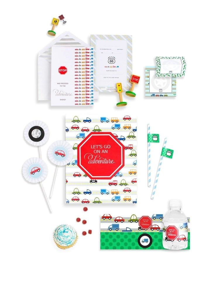 Transportation Party In A Box- THE MINI, Born To Move Party Collection, modern party supplies online