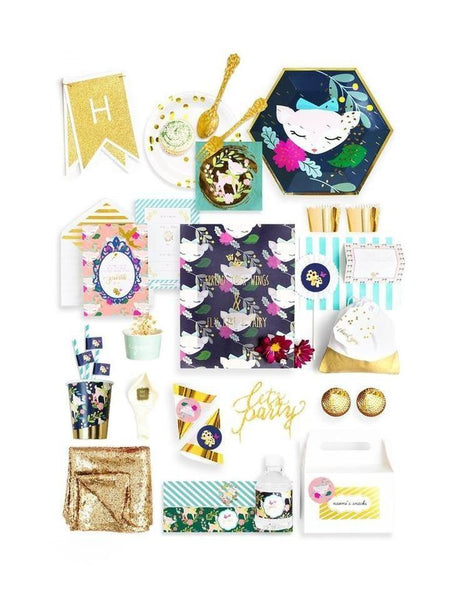 Woodland Animals Birthday Box - THE LUXE