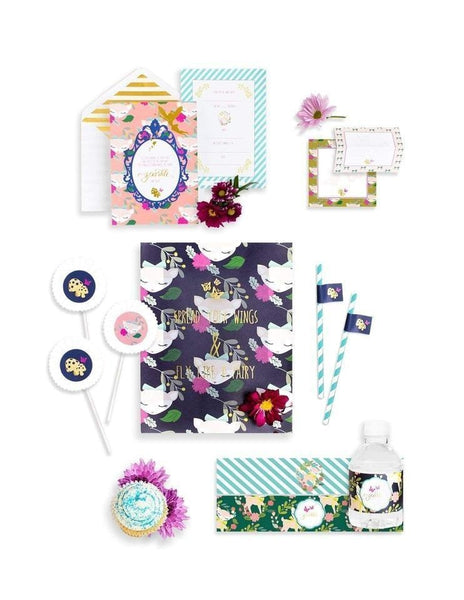 Woodland Animals Birthday Box Party Supplies