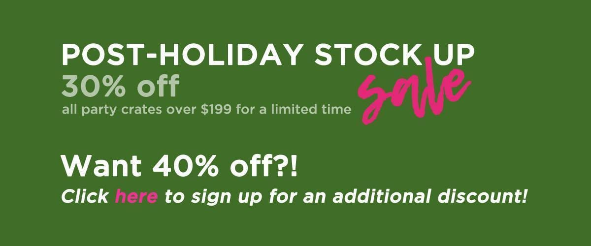 Party In A Box Holiday Sale