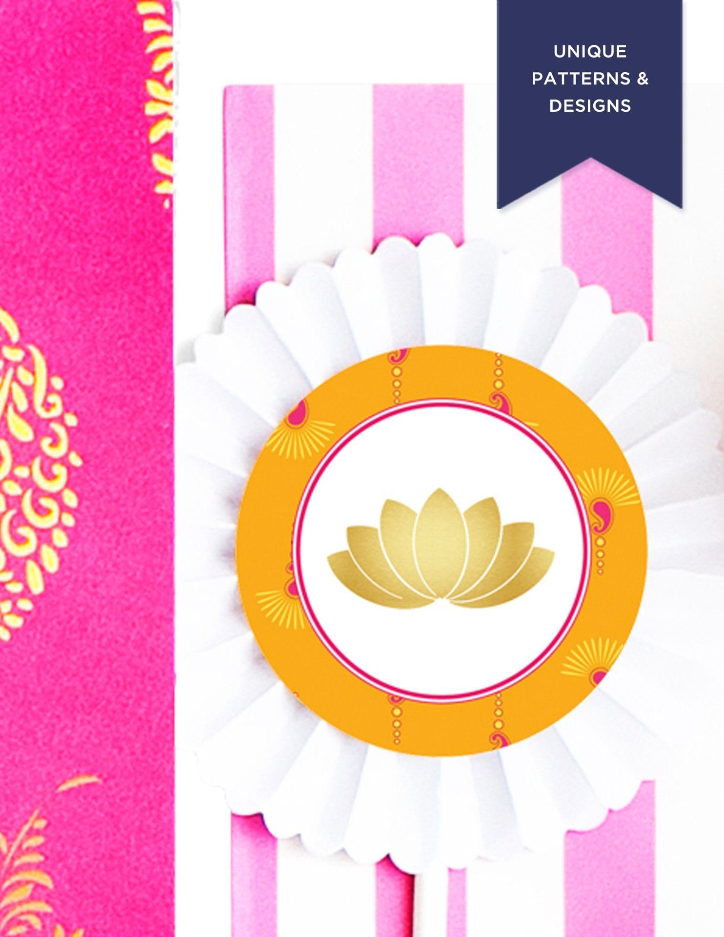 bollywood cupcake toppers