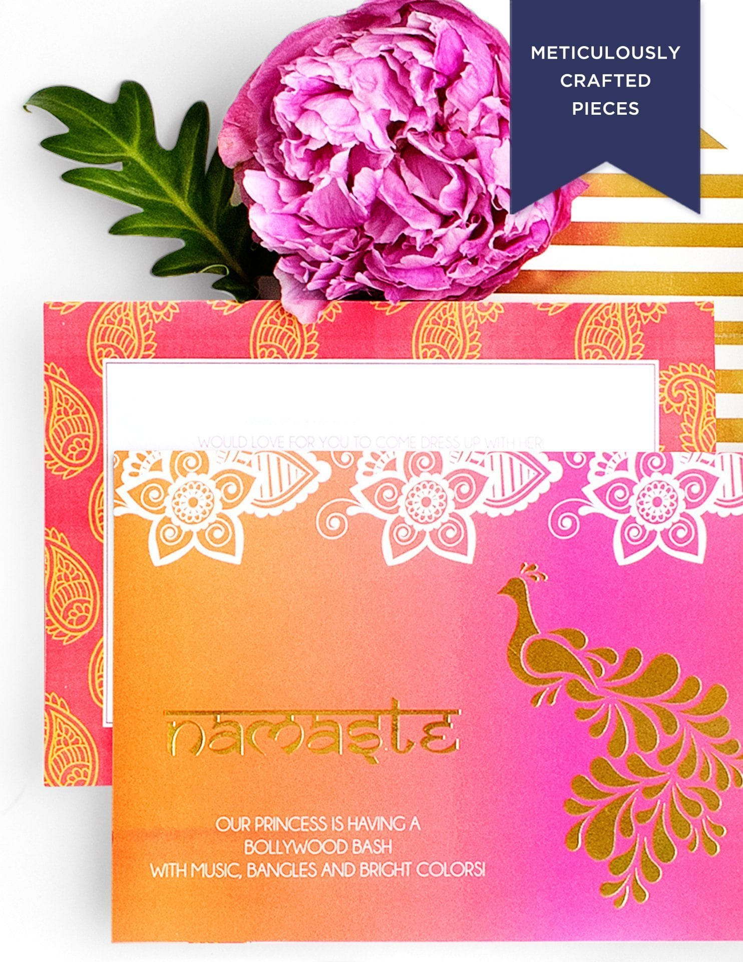 bollywood invitations