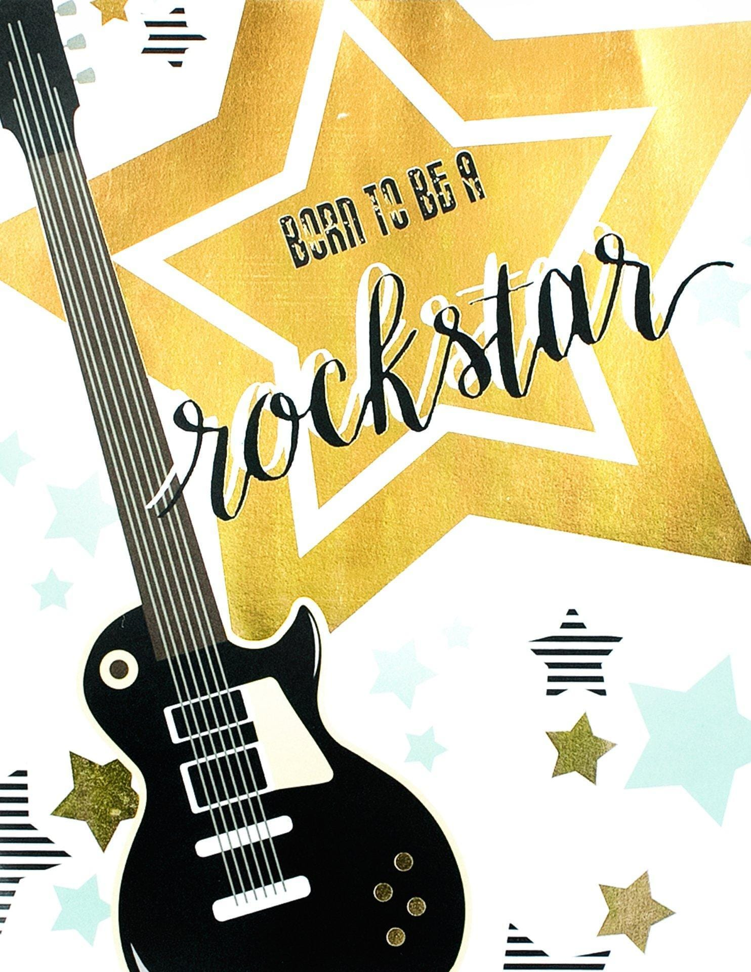 Rock star party supplies