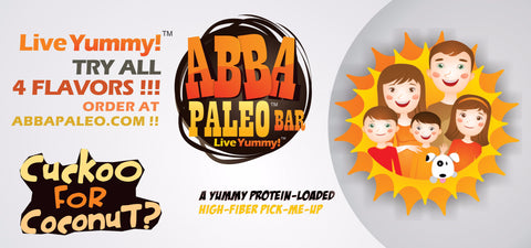 ABBA Paleo™ Bars Cuckoo for Coconut?™ Single Bar
