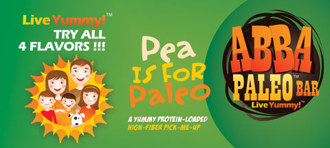 ABBA Paleo™ Bars Pea is for Paleo™ Single Bar