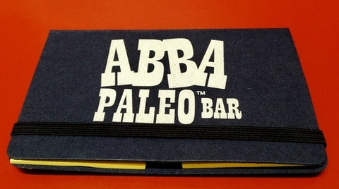 ABBA Paleo™ Bars Eco-Friendly Business Card Holder With Sticky Notes