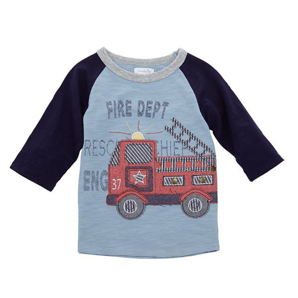 Fire Truck Boys T-Shirts