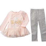 Twirly Girl Tunic and Leggings Set