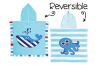 Whale Octopus Reversible Cover Up